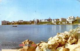 Portul Tomis din Constanța - vedere de pe dig