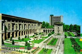 Hotel București din stațiunea Mamaia într-o splendidă zi de vară