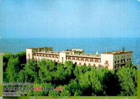 Hotel International (Rex) pe vremea când Mamaia era ceva mai înverzită