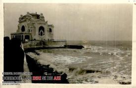 Cazinoul din Constanța văzut iarna