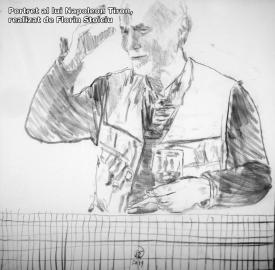 """#sărbătoreşteDobrogea. ZIUA de Constanţa, partener într-un proiect în premieră  Napoleon Tiron, despre """"Gestul în desen"""" -  """"Secunda include gestul, iar gestul are o semnificaţie spirituală, ducând fiinţa la întrebări"""""""
