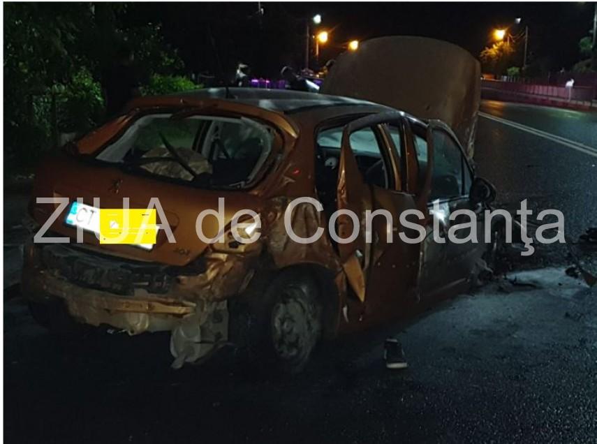 accident rutier grav la intrare in tuzla doua victime 693500