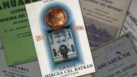 """#DobrogeaAcademică Anuarele Liceului """"Mircea cel Bătrân"""", de astăzi, în Biblioteca Virtuală ZIUA de Constanţa"""