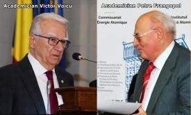 """#DobrogeaAcademică  Acad. Victor Voicu - """"Petre Frangopol este un om, o voință, un caracter care nu ațipește pe orbită"""" (document)"""