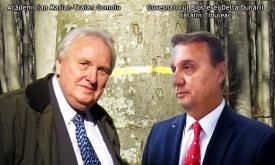 """#DobrogeaAcademică:  Cătălin Ţibuleac - """"Aducem mulţumirile noastre domnului Marian-Traian Gomoiu pentru întreaga activitate în slujba Deltei Dunării"""""""