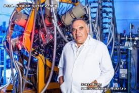 """#DobrogeaAcademică:  Acad. Nicolae-Victor Zamfir - """"Profesorul Petre T. Frangopol a promovat Institutul de Fizică Atomică drept un reper pentru comunitatea academică din România"""" (document)"""