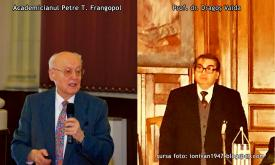 """#DobrogeaAcademică:  Prof. dr. Dragoș Vaida - """"Academicianul Petre T. Frangopol, un senior al culturii românești"""" (document)"""