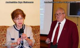 """#DobrogeaAcademică:  Acad. Maya Simionescu - """"Marian-Traian Gomoiu şi-a onorat iubirea faţă de Natură, a onorat oraşul Constanţa  şi merită toate onorurile noastre"""""""