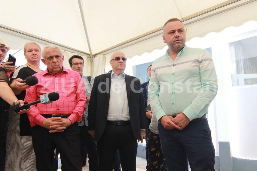 prezent la constanta ministrul agriculturii si dezvoltarii regionale petre daea doreste sa irige 2 milioane