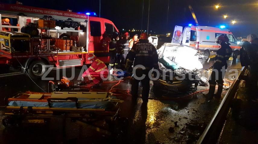 accident cu trei morti pe podul de la ovidiu soferul acuzat de producerea tragediei sub control judiciar