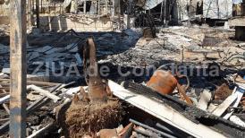 Cum arată clubul Bamboo din Mamaia la două zile de când a fost pus la pământ de un incendiu (galerie foto)