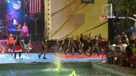 "Mamaia  US Navy vs US Army. Baschet, muzică şi distracţie la ""Warm-up for the Charity Basketball Game"""