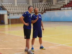 Ionuţ Stănescu, la 40 de ani  HC Dobrogea Sud Constanţa participă la turneul amical de la Buzău