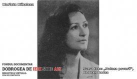 #citeșteDobrogea 91 de ani de la nașterea regretatei actrițe Marieta Mihalcea