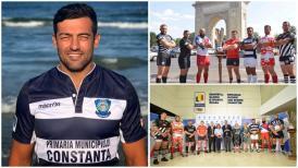 """Transfer important  I se spune """"Tarzan"""". Adrian Ion, noul căpitan al echipei de rugby Tomitanii Constanţa"""