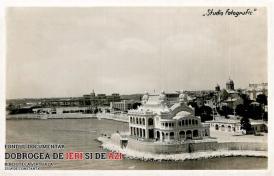 Cazinoul din Constanța văzut din avion (1942)