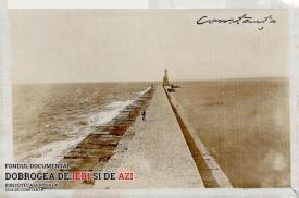 Digul și farul din Constanța (1928)