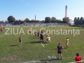 Imagini de la eveniment Rugbyștii de la Tomitanii, înfrângere și în meciul de la Constanța cu Gloria Buzău (galerie foto+video)