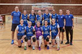 Program sportiv în judeţul Constanţa  Voleibalistele de la CS Medgidia, primul meci pe teren propriu în Divizia A1