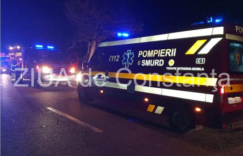 incendiu in judetul constanta un camion a luat foc interventie de urgenta a pompierilor 704641
