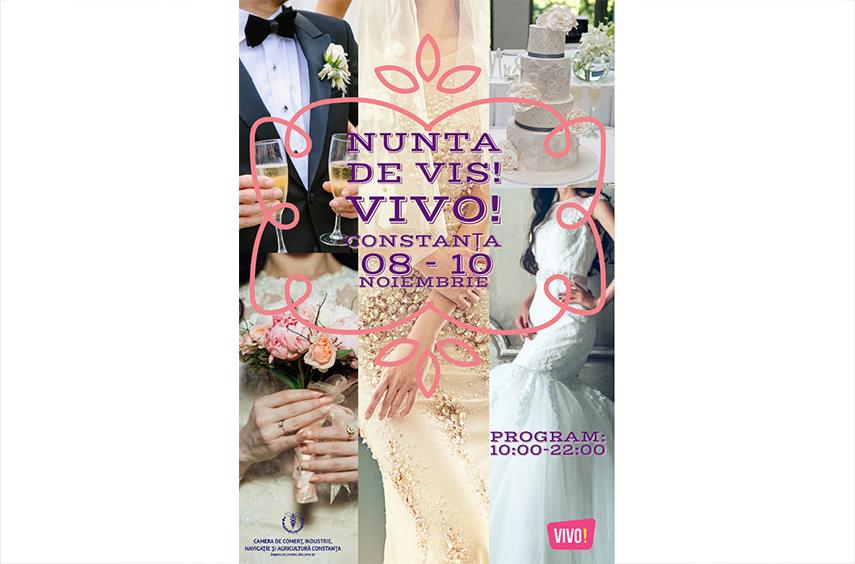 nunta perfecta incepe cu o organizare perfecta ccina constanta anunta deschiderea targului nunta de vis