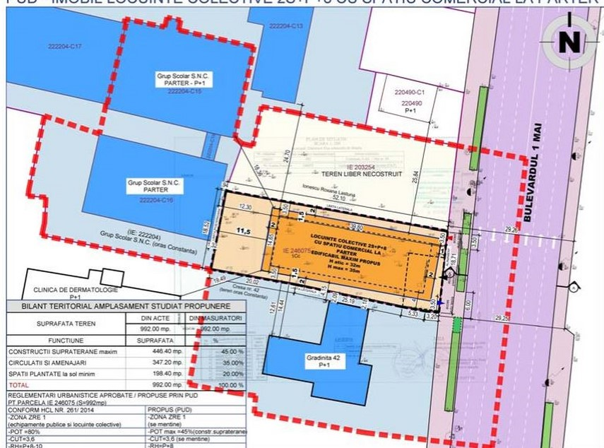 bloc de opt etaje vizavi de centrul de scafandri consultare cu privire la investitia societatii dakonis