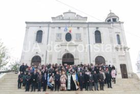 #sărbătoreșteDobrogea141: LIVE TEXT. Te Deum pe scările de la Biserica Greacă din Constanța. Semnificația evenimentului istoric (galerie foto)