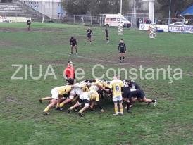Cupa României Ploaie de eseuri! Rugbyștii de la Tomitanii, înfrângere usturătoare la Constanța cu Timișoara Saracens (galerie foto)