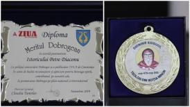 """#sărbătoreșteDobrogea141: """"Meritul Dobrogean"""" pentru Petre Diaconu"""