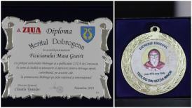 """#sărbătoreşteDobrogea141:  """"Meritul Dobrogean"""" pentru Geavit Musa"""