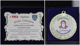 """#sărbătoreşteDobrogea141:  """"Meritul Dobrogean"""" pentru Constantin Sarry"""