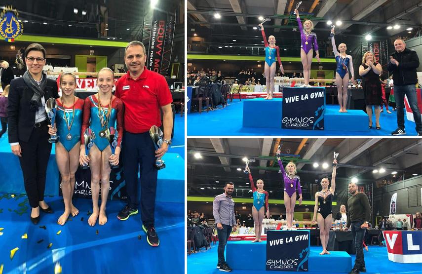 gimnasta constanteana maria ceplinschi medaliata la turneul international top gym din belgia galerie