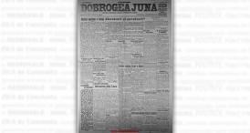 """""""Dobrogea Jună"""", 21 octombrie 1924"""
