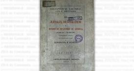 """""""Jurnalul de operațiuni al Diviziei de Infanterie de Rezervă"""""""
