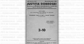 """""""Justiţia Dobrogei\"""