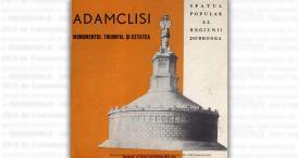 """""""Adamclisi. Monumentul triumfal și Cetatea"""", editat de Sfatul Popular al Regiunii Dobrogea"""