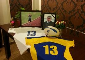 """""""Prea de tânăr ai plecat, prietene!"""" Fostul mare rugbyst Adrian Tinca ar fi împlinit astăzi 53 de ani"""