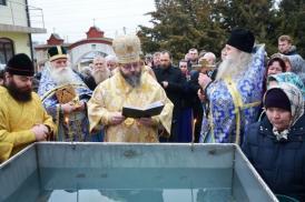 Slujba de Bobotează, săvârșită ieri la Ghindărești de arhiepiscopul Flavian al Eparhiei Ortodoxe de Rit Vechi a Slavei (galerie foto)