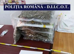 Percheziții la Constanța! Doi soți au fost arestați preventiv. Captură impresionantă de droguri