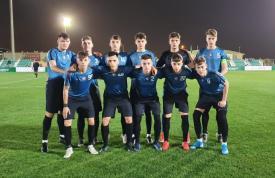 Bagaje pierdute! În ce echipament au evoluat jucătorii FC Viitorul Under-17 în debutul la Saudi Leaders Cup, de la Riad