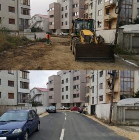 Primăria Constanța Asfalt în loc de pământ pe strada Sfântul Ioan Damaschin din municipiu