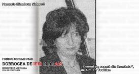 """#DobrogeaDigitală - """"Armeni de seamă din România"""", de Simion Tavitian: Manuela Elisabeta Sidoroff, cercetător de prestigiu în domeniul ştiinţelor vieţii"""
