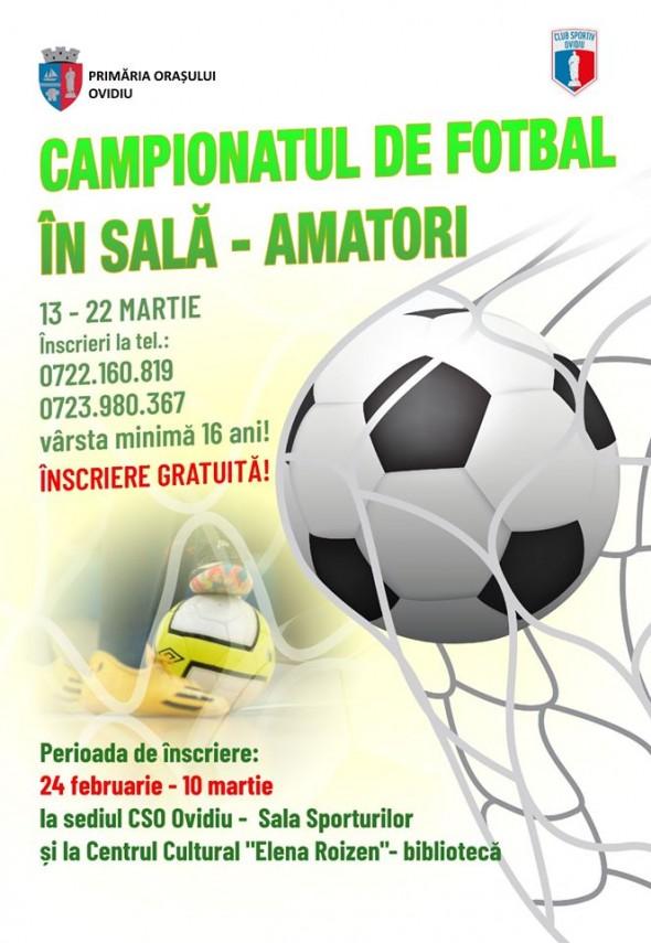 competitii sportive dedicate amatorilor de toate varstele organizate de primaria ovidiu prin clubul sportiv
