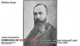 Nicolae Iorga - istoric, critic literar, scriitor şi academician