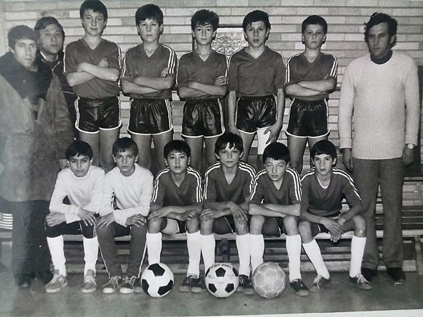 cupa sperantelor in 1988 clubul sportiv scolar medgidia a ocupat locul cinci pe tara intre micii fotbalisti