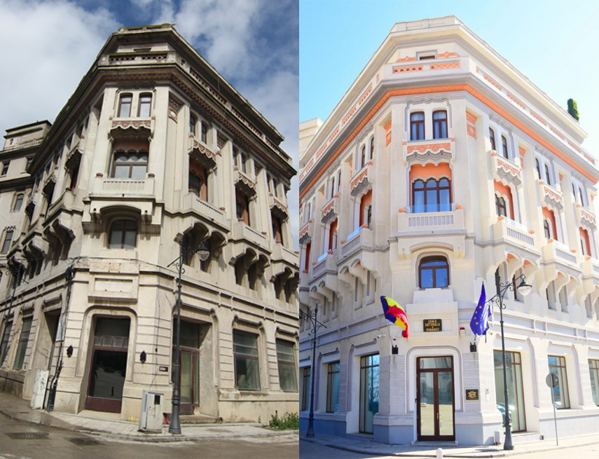 restauram istoria si construim viitorul povestea imobilului ce adaposteste bnr constanta cladire readusa