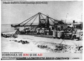 """#DobrogeaDigitală – """"Anuarul General al Dobrogei. Călăuza administrativă-comercială-industrială"""": Portul Constanța, în urmă cu un veac"""
