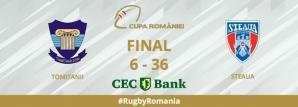 Rugby Steaua București a câștigat meciul cu Tomitanii de la Constanța
