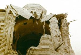 #DobrogeaDigitală: Adunarea eparhială a Episcopiei Constanța din 1942, în plin război mondial. Palatul episcopal din Constanța, bombardat