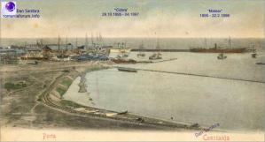 """#DobrogeaDigitală: Inaugurarea lucrărilor primului port românesc. """"Tunurile bubuie; musicile cântă şi şampania curge"""""""